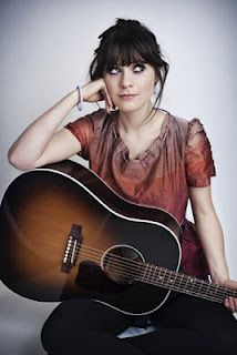 Zooey Deschanel. She and Him. Check them out. I love her voice.
