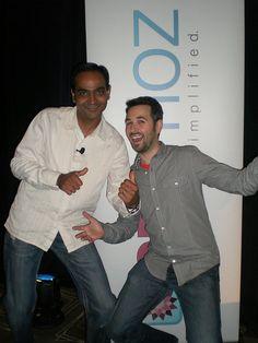 Avinash Kaushik & Rand Fishkin  #marketmotive