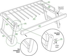DIY Drying Rack Assembly Instructions