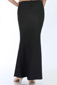 The Mandira Bedi signature Slimming Petticoat – Mandira Bedi Sarees Lehenga, Sarees, Saree Petticoat, Sewing Hacks, Blouse Designs, Slim, Indian, Formal Dresses, Pattern