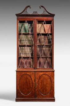 George III Period Mahogany Bookcase (Ref No. 7082) - Windsor House Antiques