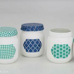 Upcycled Baby Food Jars