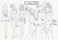Madame President Settei Character Design Sheets from Golden Boy Episode Anatomy Reference, Drawing Reference, Old Anime, Manga Anime, Character Sheet, Character Design, Illustration Story, Anime Sketch, Retro Aesthetic