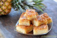 Bibingka - Filipino Coconut Cake (Uses Sweet Rice Flour & Cream of Coconut)