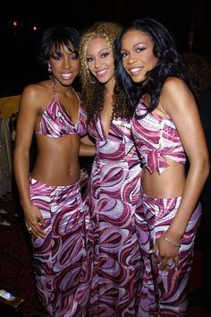 Destiny's Child, 2000s Fashion, Kids Fashion, Tina Knowles, Kids Outfits, Cute Outfits, American Music Awards, Children In Need, Matching Outfits