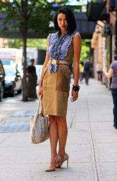 #fashion-ivabellini Lily Kwong, Altuzarra   Street Fashion   Street Peeper   Global Street Fashion and Street Style