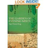 """""""It is only the hearts of men that are restless."""" The Garden of Evening Mists, Tan Twan Eng. Pinner writes: """"Malaya, 1949. After studying law at Cambrige & helping prosecute Japanese war criminals, Yun Ling Teoh, herself a scarred lone survivor of a Japanese wartime camp, seeks solace among the plantations of Northern Malaya where she grew up. There she discovers Yugiri, the only Japanese garden in Malaya, & its owner & creator, the enigmatic Aritomo. Magical writing, good imagery, great…"""