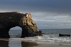 Santa Cruz - Natural Bridges.  When I die I want my ashes put here.  One place I've felt really peaceful :)