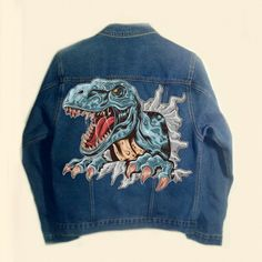 Dinosaur Pictures, Things To Come, Denim, How To Wear, Jackets, Fashion, Down Jackets, Moda, Fashion Styles