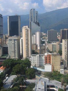 Caracas skyline