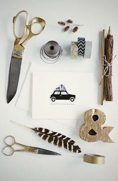 Birthday Mini Cooper Set of 6