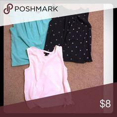 GAP-GIRLS shirt bundle! Gap girls flutter sleeve-less shirts. Sold in bundles of 3 only GAP Shirts & Tops Tank Tops