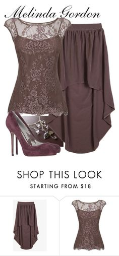 """Melinda Gordon"" by allij28 ❤ liked on Polyvore featuring Forever 21, L.K.Bennett and Sergio Rossi"
