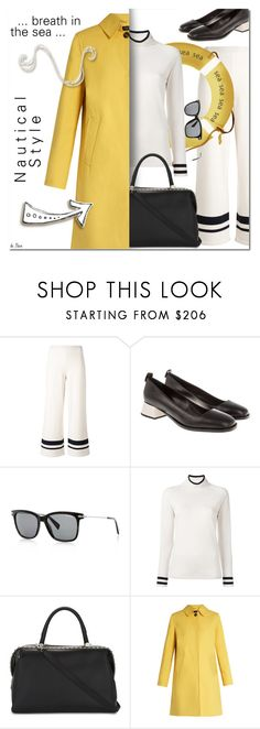"""""""MAX MARA, Nautical Style"""" by deneve ❤ liked on Polyvore featuring MaxMara, Weekend Max Mara, nauticalstyle and SpringStyle"""