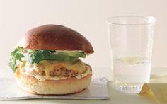 Chipotle Pork Cheeseburgers: 2000s Recipes + Menus : gourmet.com