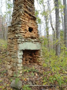 An old fireplace out in the yonders of the foothills.  I would like to build one....maybe adapt it to include an oven....