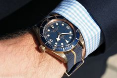 Tudor Black Bay Bronze Blue Special Edition For Bucherer