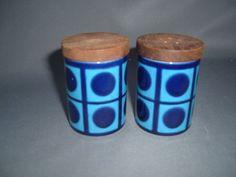 Hornsea Pottery, Retro Stylish Cruet, by John Clappison. Circa 1960s.