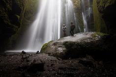 Gljúfrabúi waterfall (very close to Seljalandsfoss)