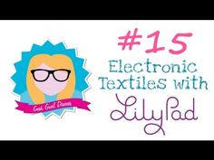 Having fun with a craft project AND electronics thanks to Lilypad arduino. Sorry for the awful voice but just recovering from a throat infection. Arduino Projects, Craft Projects, Weekend Projects, E Textiles, Smart Textiles, Innovation, New Electronic Gadgets, Works With Alexa, Little Books