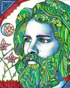Whoever controls the media, controls the mind.  Jim Morrison    Art by Laura Borealisis