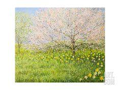 Springtime Impression Art Print by kirilstanchev at Art.com