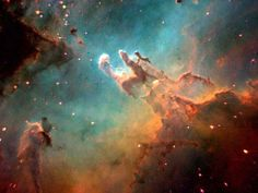 Star Life Cycle: Eagle Nebula, birthplace of stars. Planetary Nebula, Eagle Nebula, Space Facts, Norwegian Forest Cat, Hubble Space, Life Cycles, Science Nature, Astronomy, Cosmos