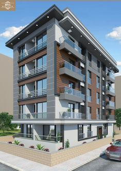 Apartment Building Elevation Designs apartment elevation design | architectural design | pinterest
