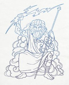 Poseidon the sea god poseidon the sea god pinterest for Mount olympus coloring pages