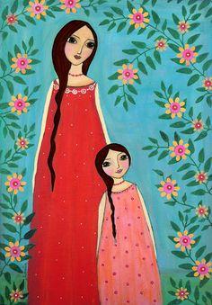 #mothersday #mãe #mother #mum #ilustração #illustration #ilustration #diadamãe #mãesdetodasascores Dia da Mãe, imagens, ilustrações, mães de todas as cores