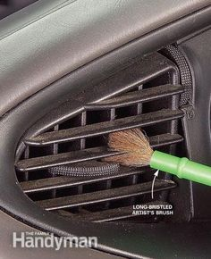 Interior Car Cleaning - Article: The Family Handyman