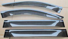 81.60$  Buy now - http://alisph.worldwells.pw/go.php?t=32468235723 - 2012-2015 For Mercedes-Benz GL Class X166 Window Visor Sun Rain Guard deflector shade 4pcs