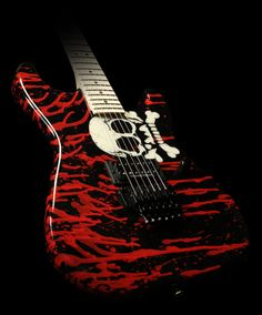 Charvel Warren DeMartini Skull Signature Model