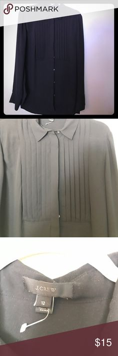 Black J Crew Button Down black J Crew Button Down. New, missing tags. J Crew Tops Button Down Shirts