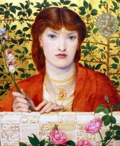 Regina Cordium (Alexa Wilding) by Dante Gabriel Rossetti
