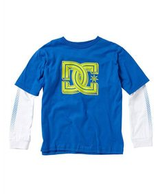 Take a look at this Blue Krossed 2fer Layered Tee - Toddler & Boys by DC on #zulily today!