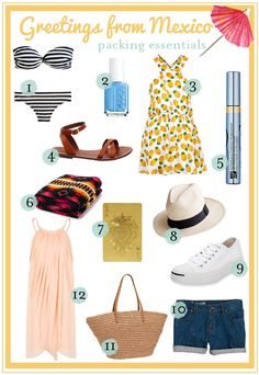 beach vacation packing guide