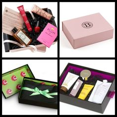 Best Beauty Boxes these are soooo cool! You pay about $10 a month and you get a box with free samples (sometimes full size products) for you to try out!
