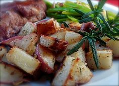 Dijon Roasted Potatoes from Food.com: The dijon provides a slight tang that really kicks these potatoes to the next level! These are a family favorite at our house.