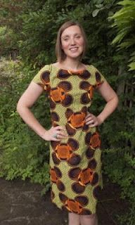 Fabric Godmother: Wax print dress