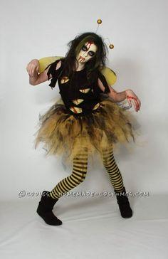 Original Zom-Bee Homemade Halloween Costume ...This website is the Pinterest of costumes