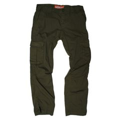 SUPERDRY cargo pants in Tarnished Green MB7BF007F3, Free Shipping at CelebrityModa.com