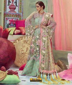 CRIMSON Net Dresses Pakistani, Pakistani Dress Design, Pakistani Outfits, Suits For Women, Clothes For Women, Ladies Clothes, Best Fashion Designers, Pakistani Fashion Casual, Kurta Designs Women