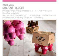 Milk Packaging Ashley Linnenbank | Visual Creative