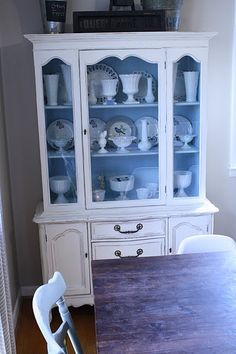 Very Similar Style Bones As My Cabinet Love The Wooden Shelves Contrast Color
