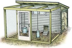 Building A DIY Chicken Coop If you've never had a flock of chickens and are considering it, then you might actually enjoy the process. It can be a lot of fun to raise chickens but good planning ahead of building your chicken coop w Walk In Chicken Coop, Chicken Barn, Diy Chicken Coop Plans, Portable Chicken Coop, Best Chicken Coop, Chicken Coop Designs, Backyard Chicken Coops, Building A Chicken Coop, Chicken Runs