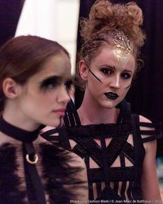 Collection Couture de la Créatrice Adeline Ziliox  #Designer #Couture #HauteCouture #Designer #Models #Black #White #Feather #Plumes #Paris # Strasbourg #Show #Catwalk #Fashion #Mode #Création #Backstage
