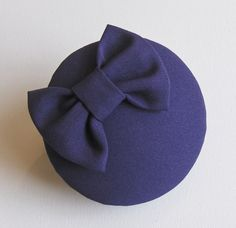 Purple Bow Cocktail Hat by talulahblue on Etsy, £32.00    www.talulahblue.etsy.com