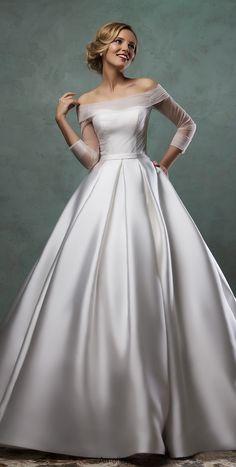 Wedding dress from Amelia Sposa