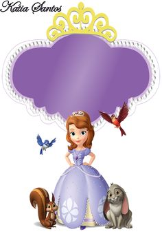 Sweet Sofia the First: Free Printable Invitations and Candy Bar Labels. Sofia The First Birthday Cake, Princess Sofia Birthday, Princess Sofia The First, Pink Birthday Cakes, Birthday Diy, First Birthday Parties, Sofia Cake, Princesa Sophia, Candy Bar Labels